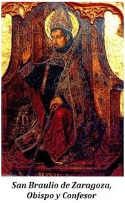 San Braulio de Zaragoza - Obispo y Cofesor