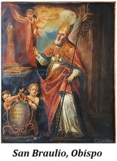 San Braulio - Obispo