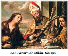 San Lázaro de Mlán - Obispo