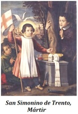San Simonino de Trento - Mártir