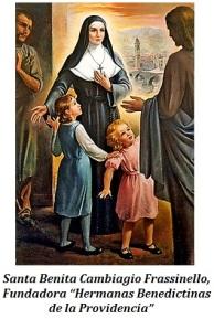 Santa Benita Cambiagio - Fundadora