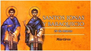 Santos Jonas y Baraquicio - Mártires