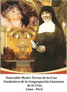 Venerable Madre Teresa de la Cruz