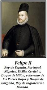 Felipe II, Rey de España