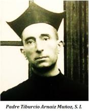 Padre Tiburcio Arnaiz Muñoz, S. I.