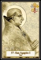 San Agapito I - Papa