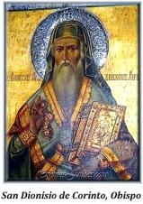 San Dionisio de Corinto - Obispo