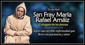 San Fray María Rafael Arnáiz