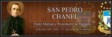 San Pedro Chanel - P. Marista y Protomártir de Oceanía