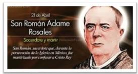 San Román Adame Rosales - Sacerdote y Mártir