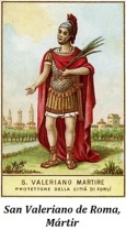 San Valeriano de Roma - Mártir