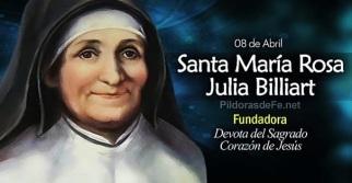 Santa María Rosa Julia Billiart - Fundadora