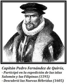 Capitán Pedro Fernández de Quirós
