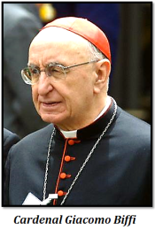 Cardenal Giacomo Biffi