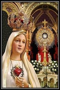 Corazón de María y Jesús Sacramentado