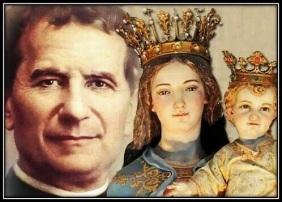 Don Bosco y María Auxiliadora
