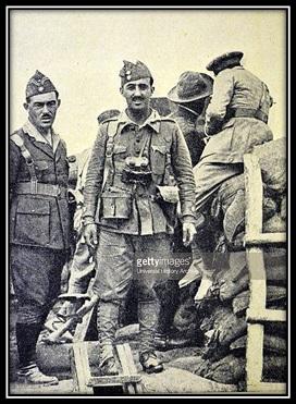 General Franco en el campo de batalla