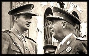 General Franco y Juan Carlos I