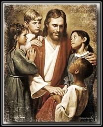 Jesucristo dejad que los niños se acerquen a Mí