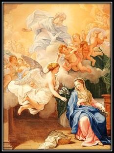 La Virgen María cuando dijo sí