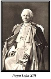 Papa León XIII - sentado