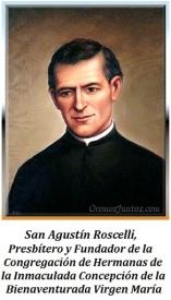 San Agustín Roscelli - Presbítero y Fundador