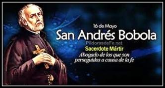 San Andrés Bobola - Mártir