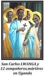 San Carlos LWANGA y 12 compañeros