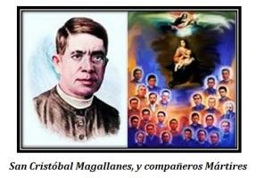 San Cristóbal Magallanes y compañeros
