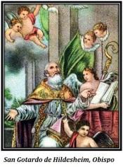 San Gotardo de Hildesheim - Obispo