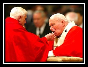 San Juan Pablo II y Benedicto XVI