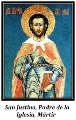 San Justino - Padre de la Iglesia, Mártir