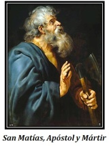 San Matías - Apóstol y Mártir