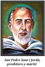 San Pedro Sans i Jordá - Presbíetro y mártir