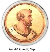 Papa San Adriano III