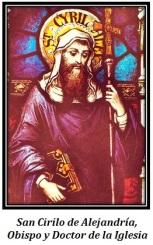 San Cirilo de Alenjandría