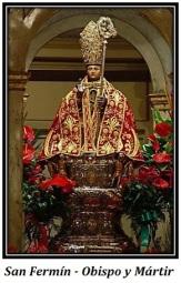 San Fermín - Obispo y Mártir