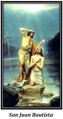 San Juan Bautista y Jesucristo