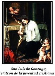 San Luis de Gonzaga - Patrón de la juentud cristiana