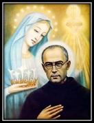 San Maximliano Kolbe y la Virgen María