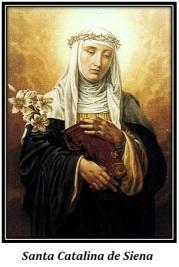 Santa Catalina de Siena - Corona de espinas