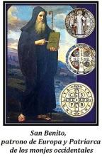 San Benito - Patrono de Europa