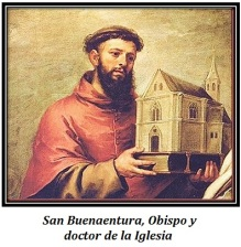 San Buenaventura - Obispo y Doctor de la IIglesia