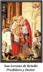 San Lorenzo de Brindis - Presbítero y Doctor