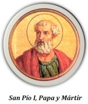 San Pío I, Papa y Mártir