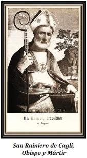 San Rainiero de Cagli - Obispo y Mártir