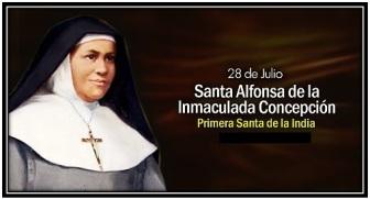 Santa Alfonsa de la Inmaculada Concepción