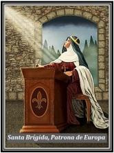 Santa Brígida - Patrona de Europa
