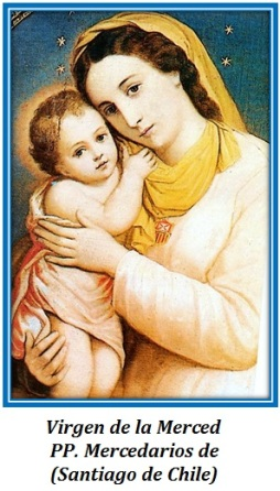 Virgen de la Merced - PP. Mercedarios (Santiago de Chile)