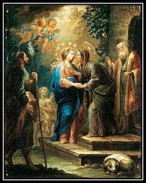 Visitación de María a Isabel